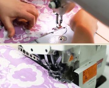 пошив юбки полусолнце на резинке пошагово