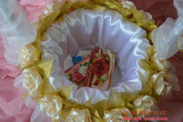 Svadebnaia-korzina_3-600x399 Корзина своими руками - 63 фото советов по созданию простой и красивой тары