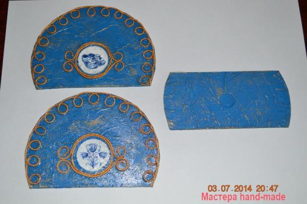 Салфетница в технике Пейп-арт