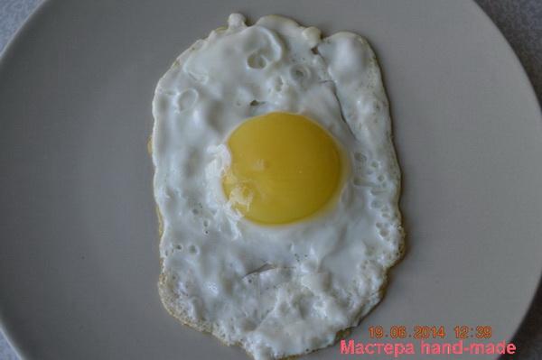 Детское меню, яичница