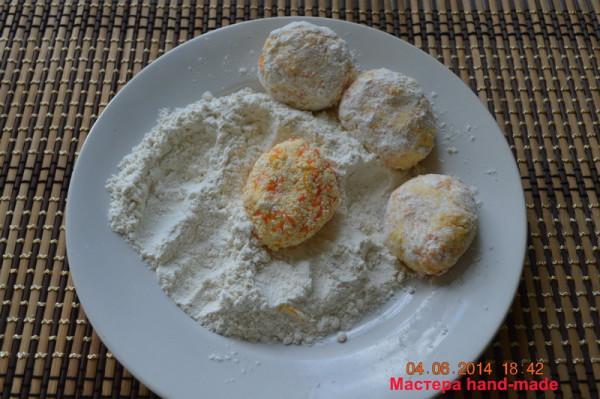 Пышные и вкусные сырники рецепт.