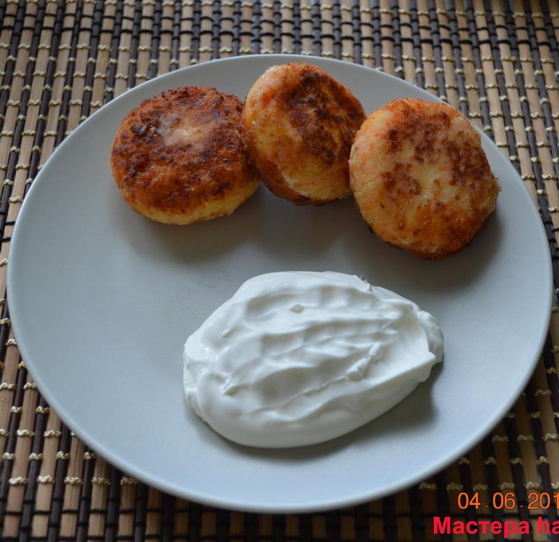 Пышные и вкусные сырники, рецепт