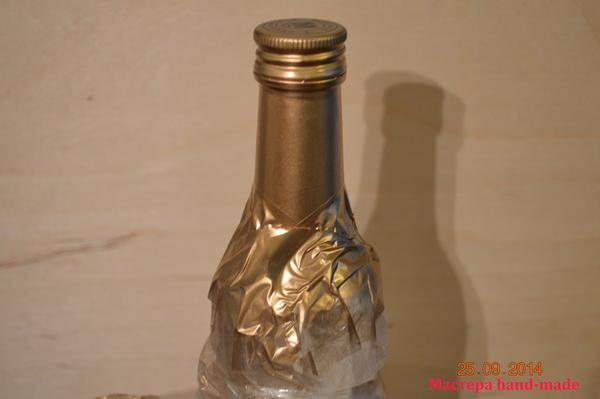 Свадебное шампанское своими руками