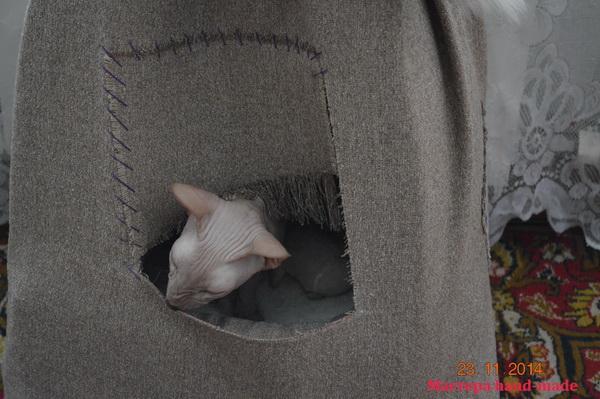 Как сделать дом для кошки, своими руками