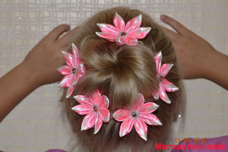 Цветы-канзаши