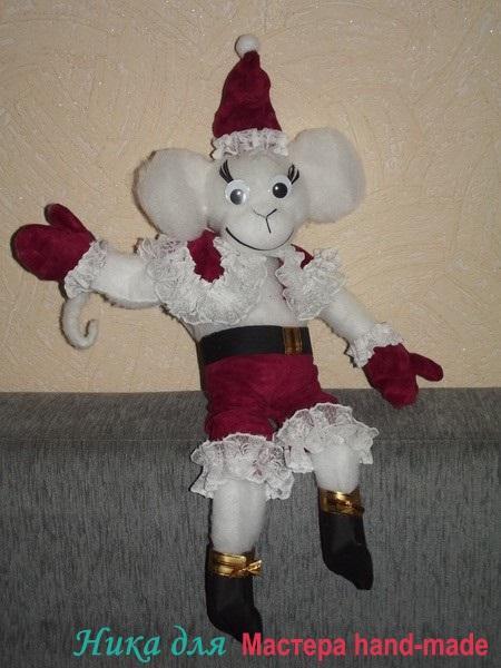 новогодняя-обезьянка