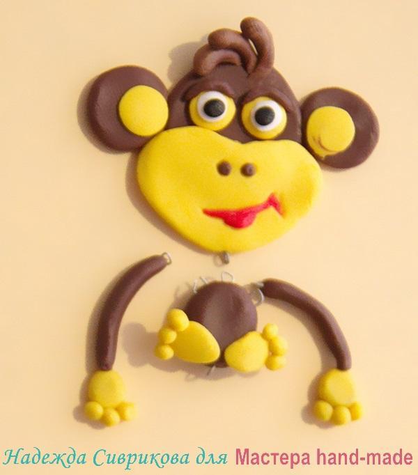 серьги-обезьянки