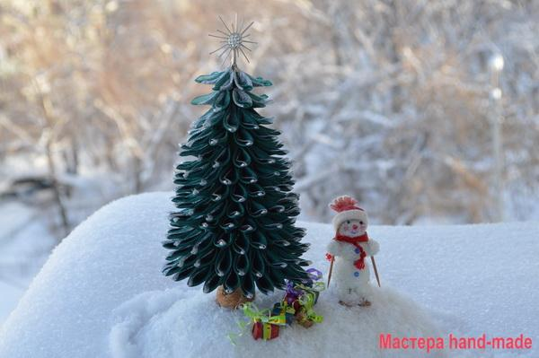 елка-из-атласных-лент