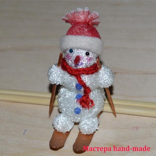 Снеговика своими руками