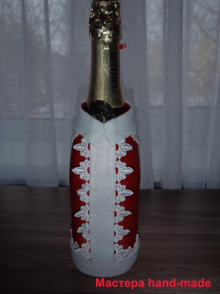 украсить-шампанское