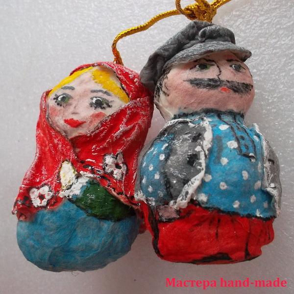 Влюбленные Неразлучники в подарок, сувенир своими руками