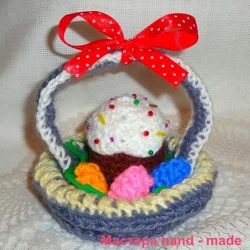 Подарок на пасху своими руками – Пасхальная корзинка