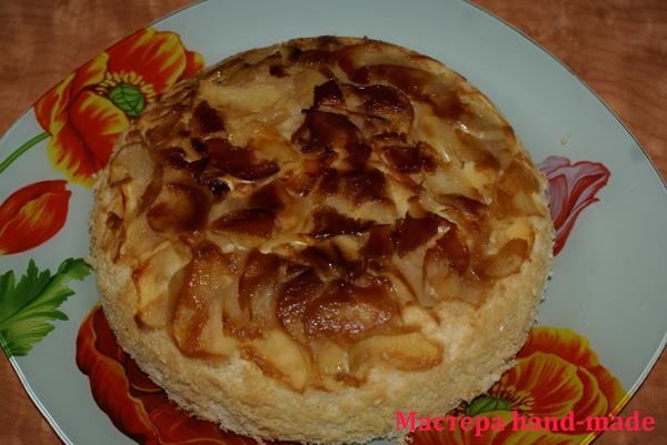 пирог-с-яблоками