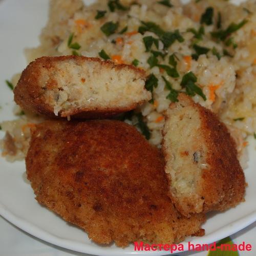 Вкусные рыбные котлеты в мультиварке, рецепт с фото