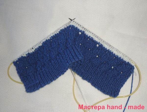 свитер-спицами