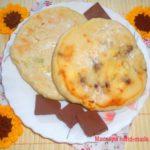 Хачапури с творогом и шоколадом в мультиварке