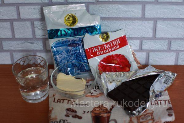Кекс на кефире: ингредиенты для глазури