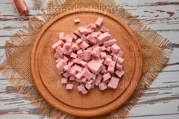 Колбаса для оливье на 8 марта