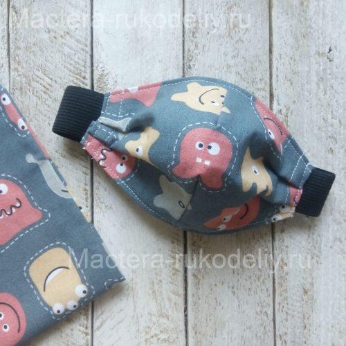 Защитной детская маска своими руками