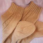как вязать носки спицами для начинающих пошагово на 5 спицах