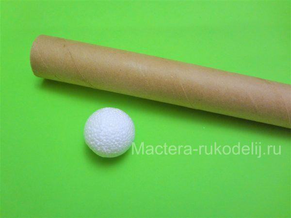 Материал для башмачков - втулка и шарики