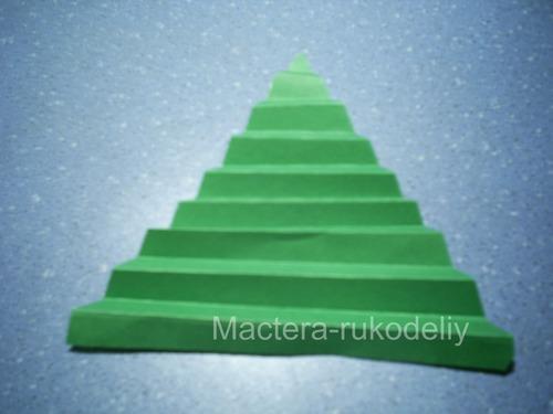Весь треугольник в складочках