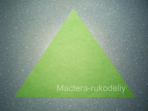 Треугольник для елочки